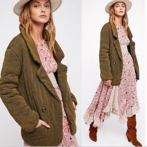 Free People Tawny Pillow Jacket